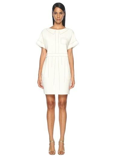 Troklu Mini Elbise-Boutique Moschino